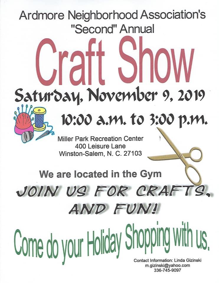 Ardmore Craft Show flyer