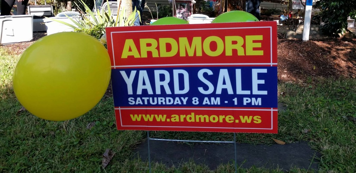 Ardmore Neighborhood Yard Sale